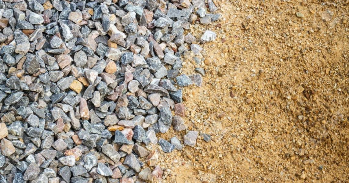 A Importância da AREIA e PEDRA na Construção Civil